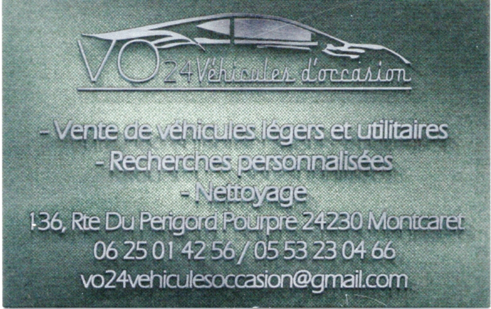 VO24 véhicules occasions